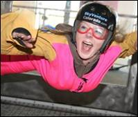 Andrea indoor skydiving in Colorado! - Copy
