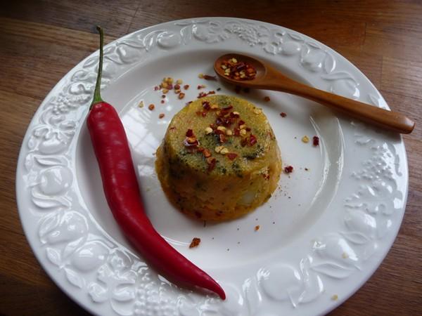 Chilli Corn & Broccoli Polenta Cakes