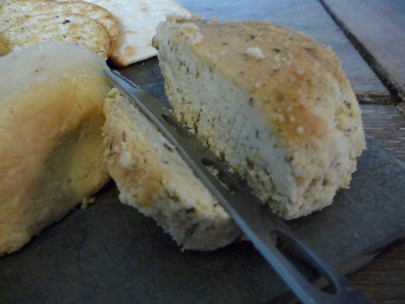 Herby Baked Almond Feta