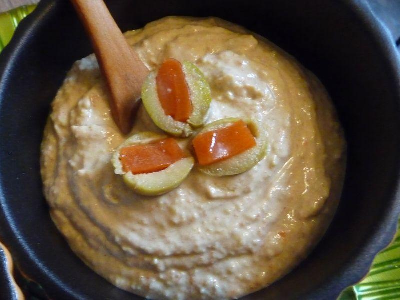 Easy Pimento Olive Vegan Dip