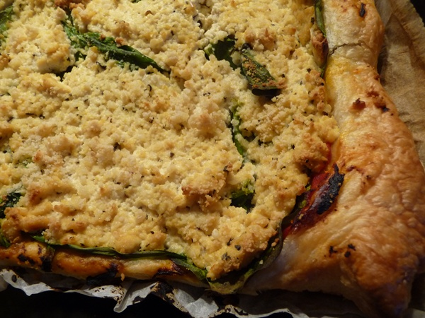 Spinach & Vegan Ricotta Tofu Tart
