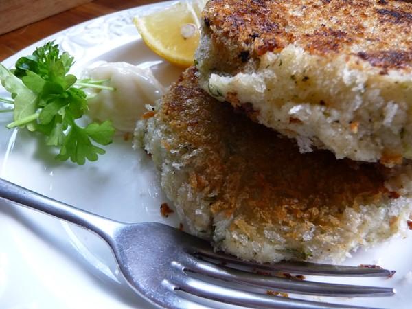 Fishcakes vegan style!