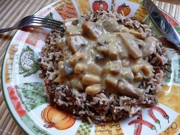 Mushroom & Cashew Sauce