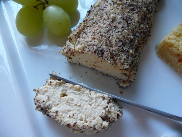 Herby Vegan Tofu Cheese