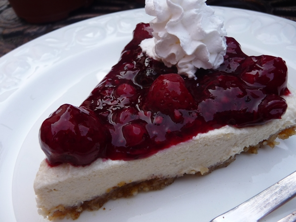 Very Berry Gluten Free No Bake Vegan Cheesecake