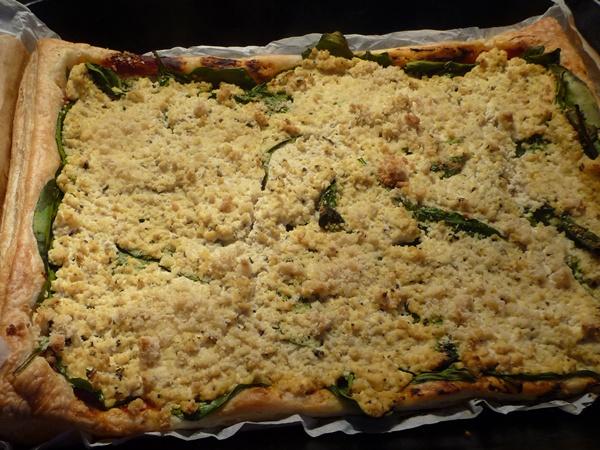 Spinach & Ricotta Tofu Tart