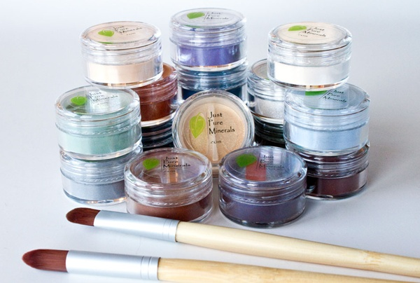 Just Pure Minerals Eyeshadows