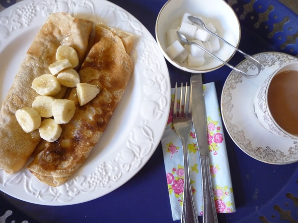 Egg-free vegan pancakes are easy peasy!