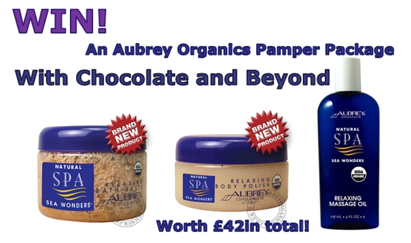 Win Aubrey Organics Pamper Package!