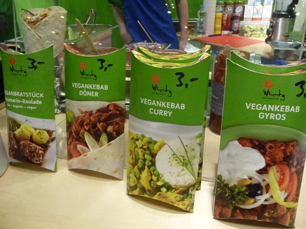 More vegan kebabs