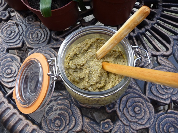 Green Olive Vegan Tapenade