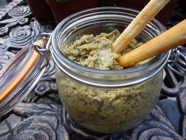 Mediterranean Green Olive Tapenade