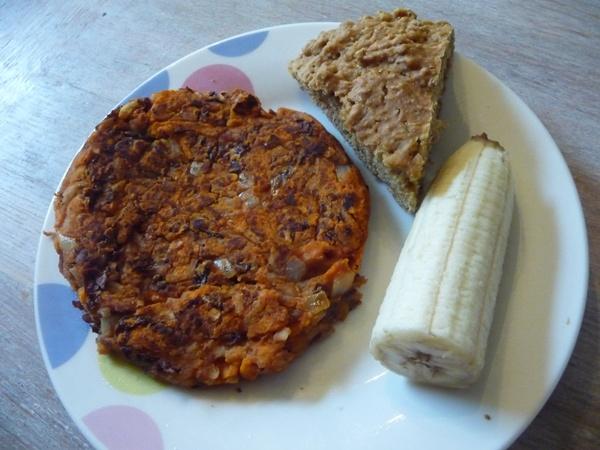 My day 4 breakfast!
