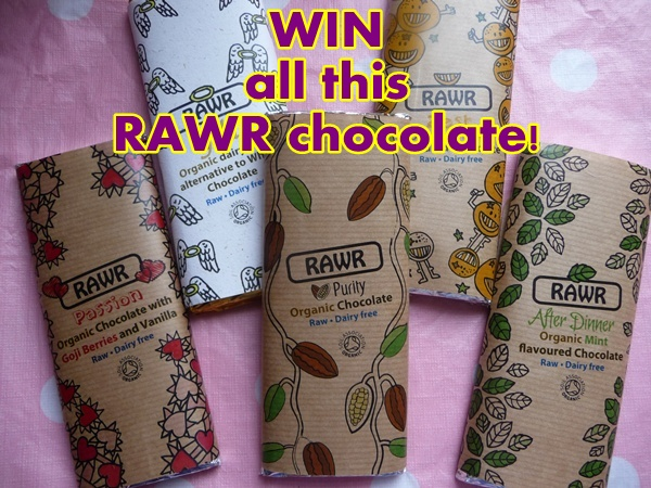 WIN a RAWR chocolate selection