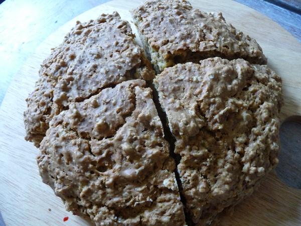 Home made soda bread