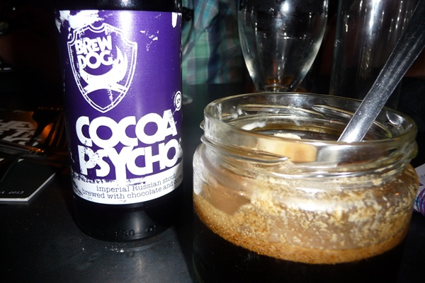 Cocoa Psycho with vegan ice cream