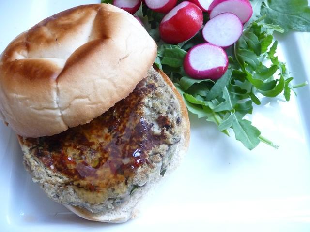 Chickpea Mushroom & Tarragon Burgers