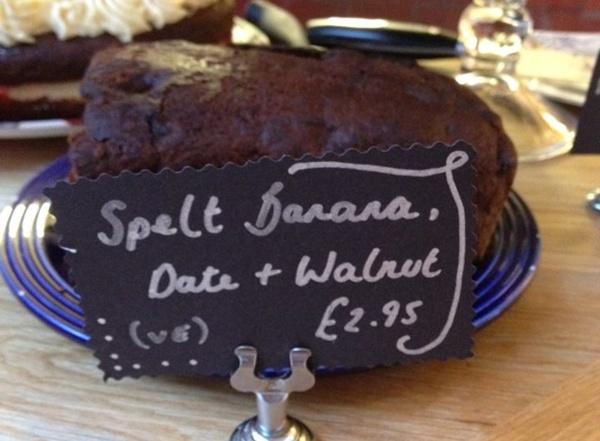 Spelt cake