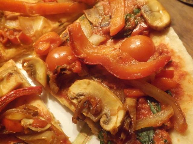 Stove Top Vegan Pizza