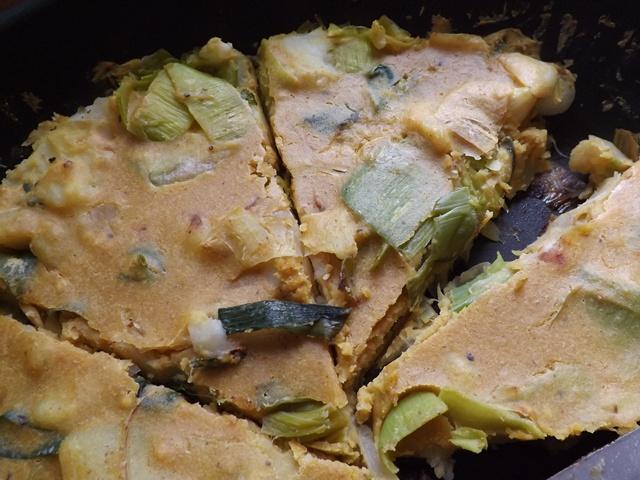 Leek & Potato Frittata