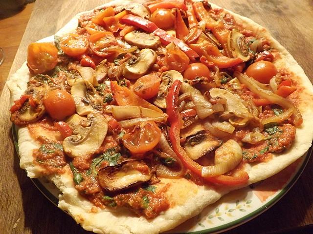 Vegan Pan Pizza