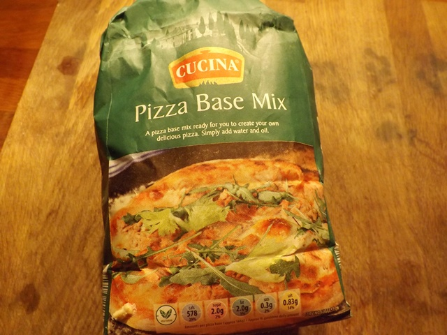 Pizza flour from Aldi