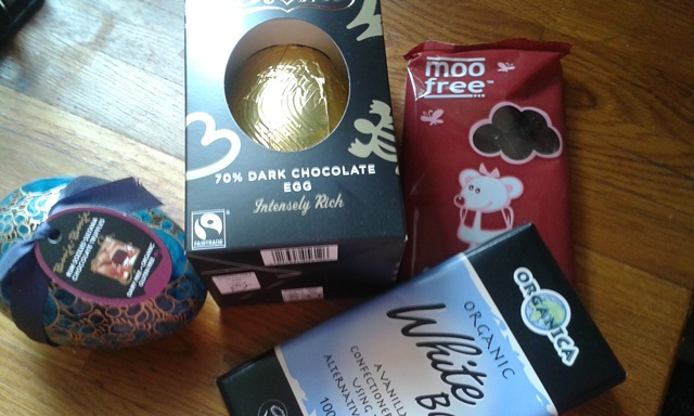 Choc assortment from Ethical Superstore