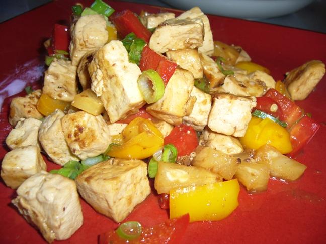Shambhus Chilli Tofu - Nov 2014