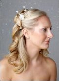 Christina bridal hair